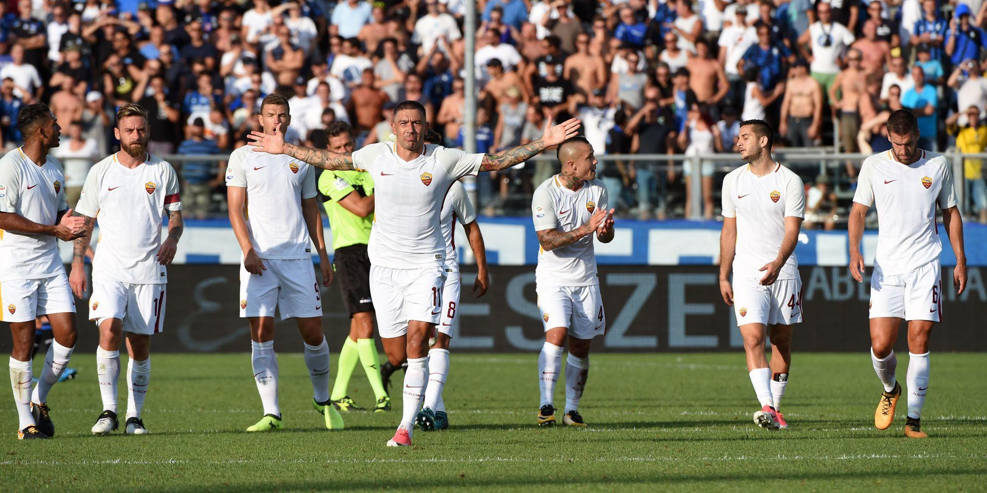 Aleksandar Kolarov Atalanta Roma Serie A