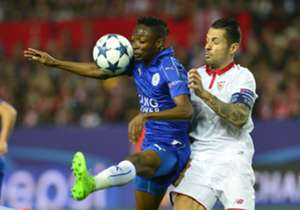 The Nigerians were on parade for the Foxes as they lost to the Spaniards in Wednesday's Champions League fixture, though got a valuable away goal