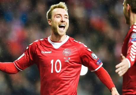 Ireland boss O'Neill wary of Eriksen threat