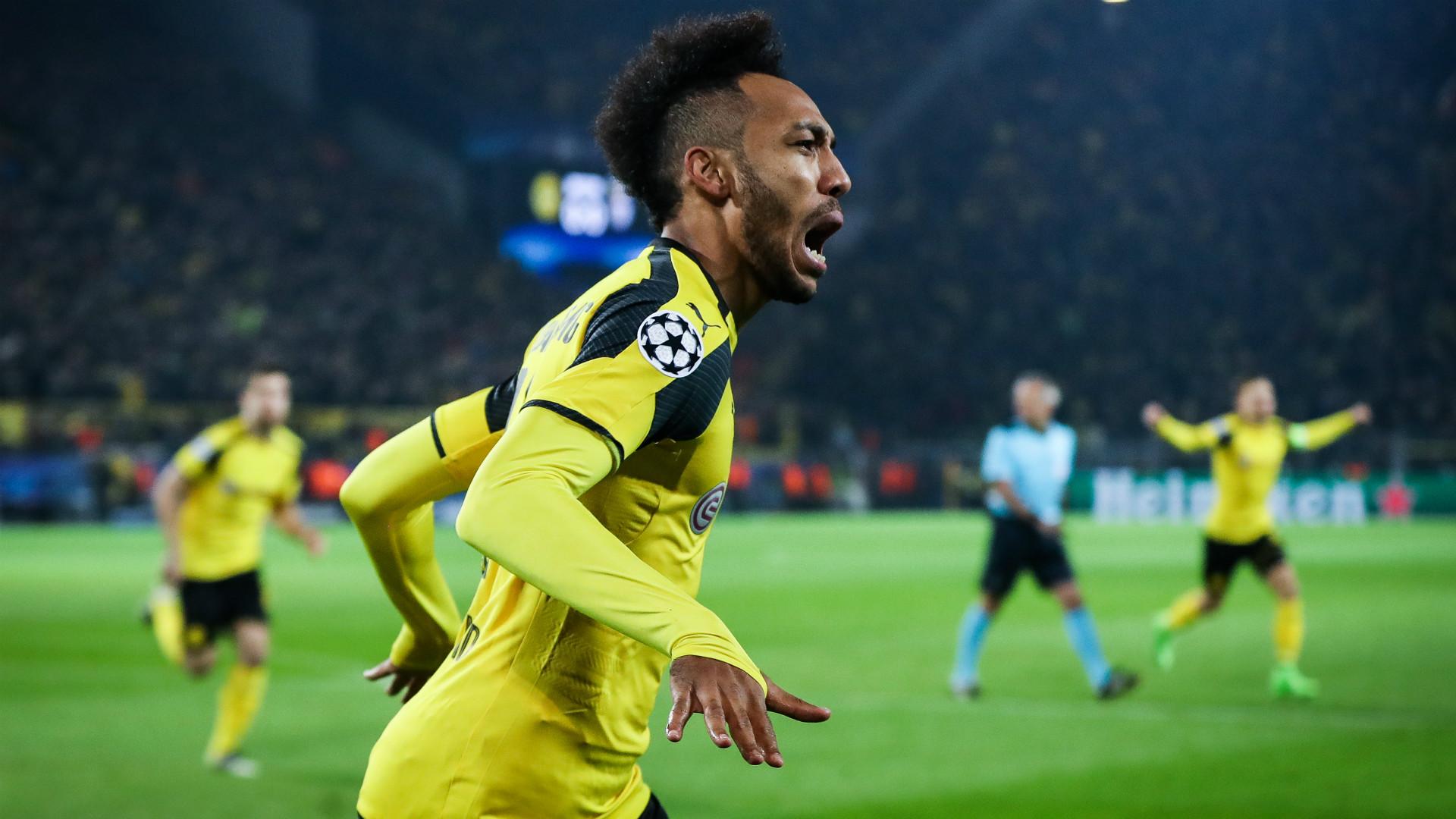 Pierre-Emerick Aubameyang Borussia Dortmund Champions League