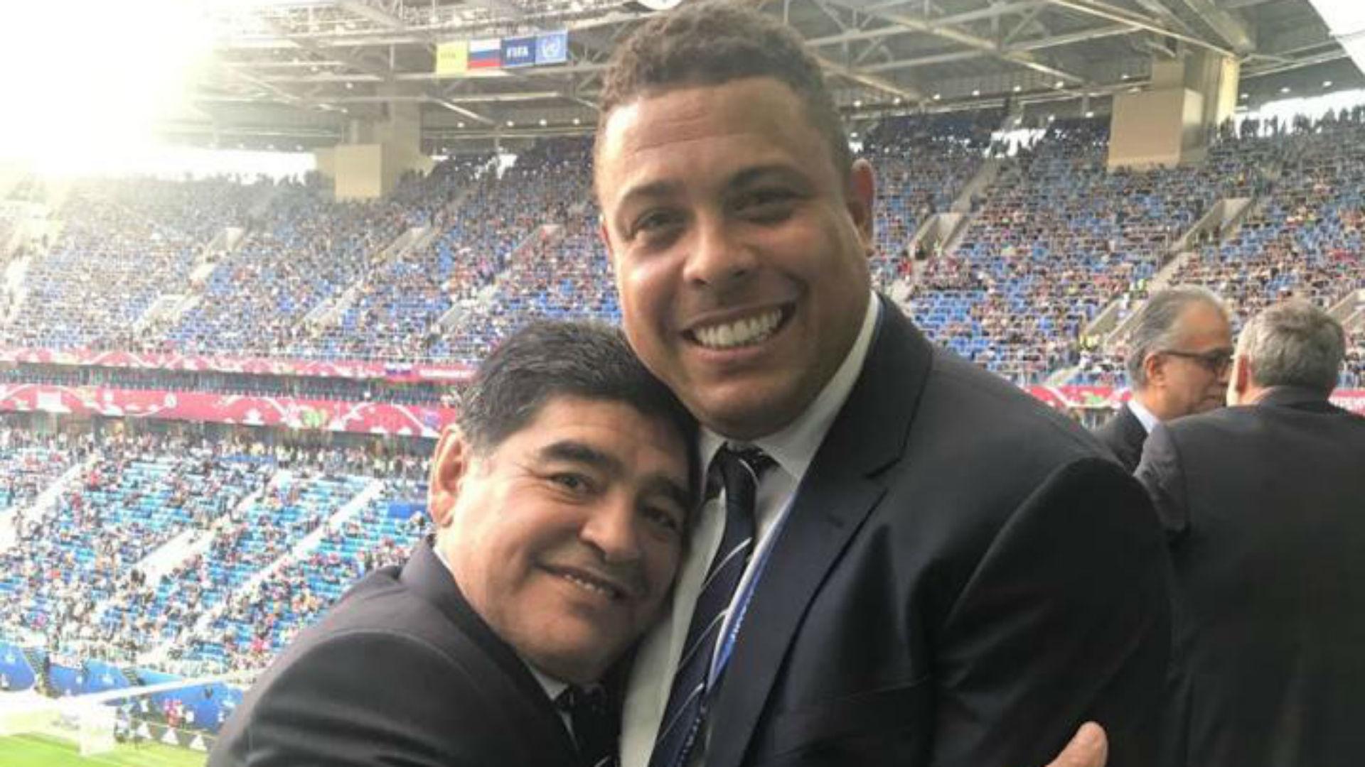 Maradona acusado de assédio sexual por jornalista russa