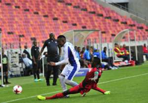 Lerato Manzini fired Chippa United into the Nedbank Cup semi-finals, after scoring the only of the match in the 72nd minute as they beat National First Division (NFD) side Jomo Cosmos 1-0, in a quarter-final clash at the Nelson Mandela Bay Stadium on S...