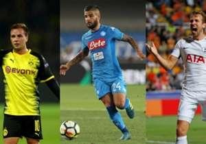 Götze beim BVB, Kane bei Tottenham, Insigne bei Napoli - das sind die größten Stars der Klubs aus den Champions-League-Gruppen E bis H, die aus deren eigenem Nachwuchs stammen.