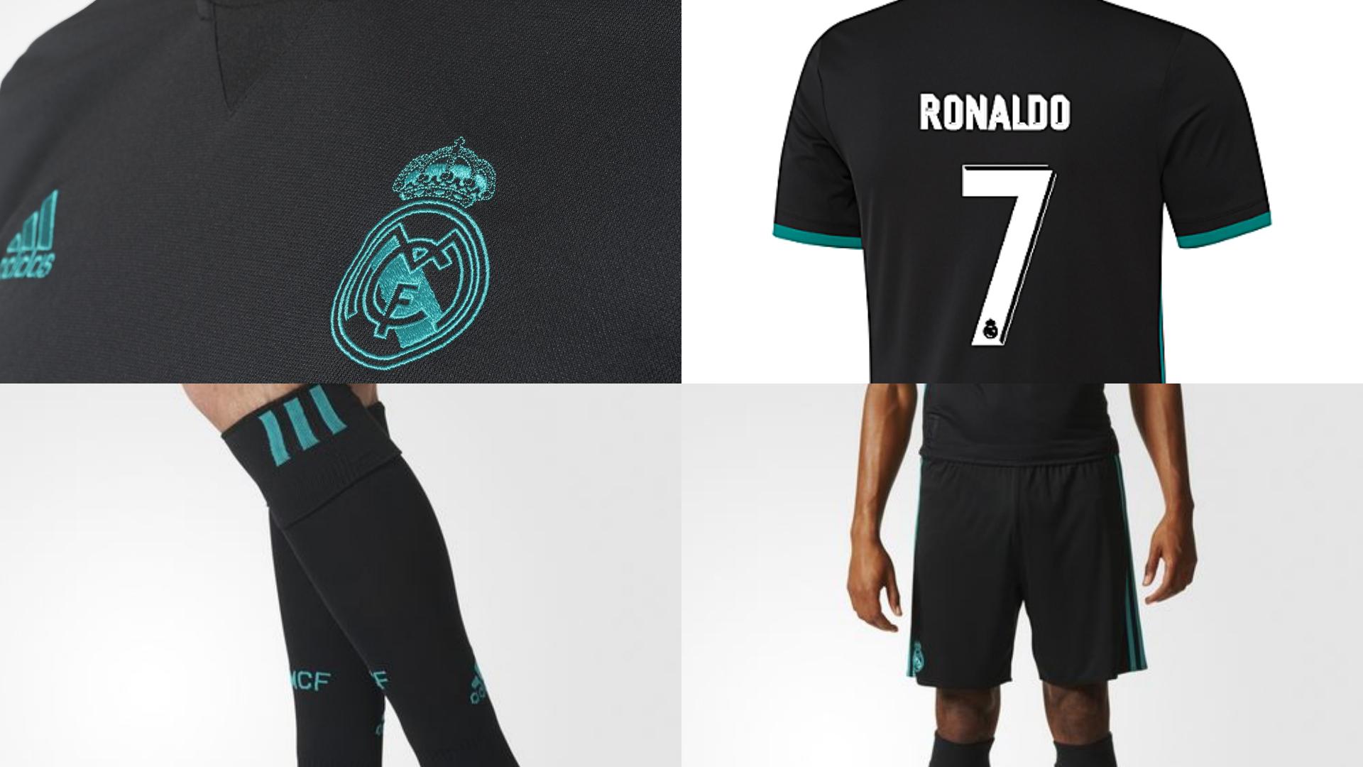 Real Madrid presenta sus uniformes para la temporada 2017