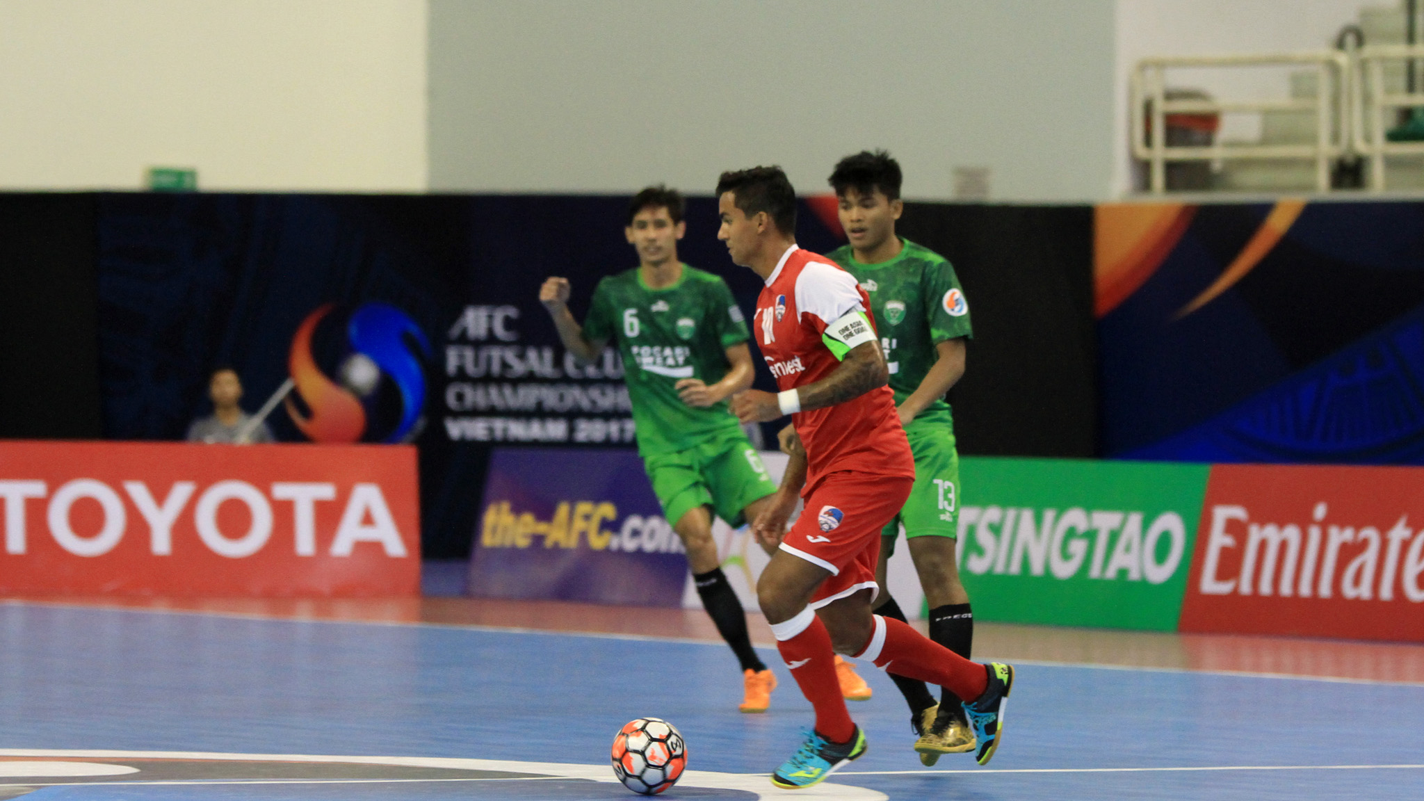 2017 AFC Futsal Club Championship   Vamos (Indonesia) 5-2 Disi Invest (Tajikistan)