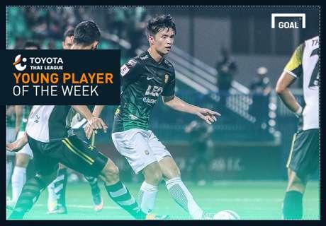 Toyota Thai League Young Player of the Week 18 : เชาว์วัฒน์ วีระชาติ