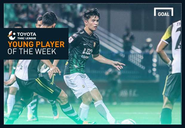 Toyota Thai League Young Player of the Week 18 : เชาว์วัฒน์ วีระชาติ