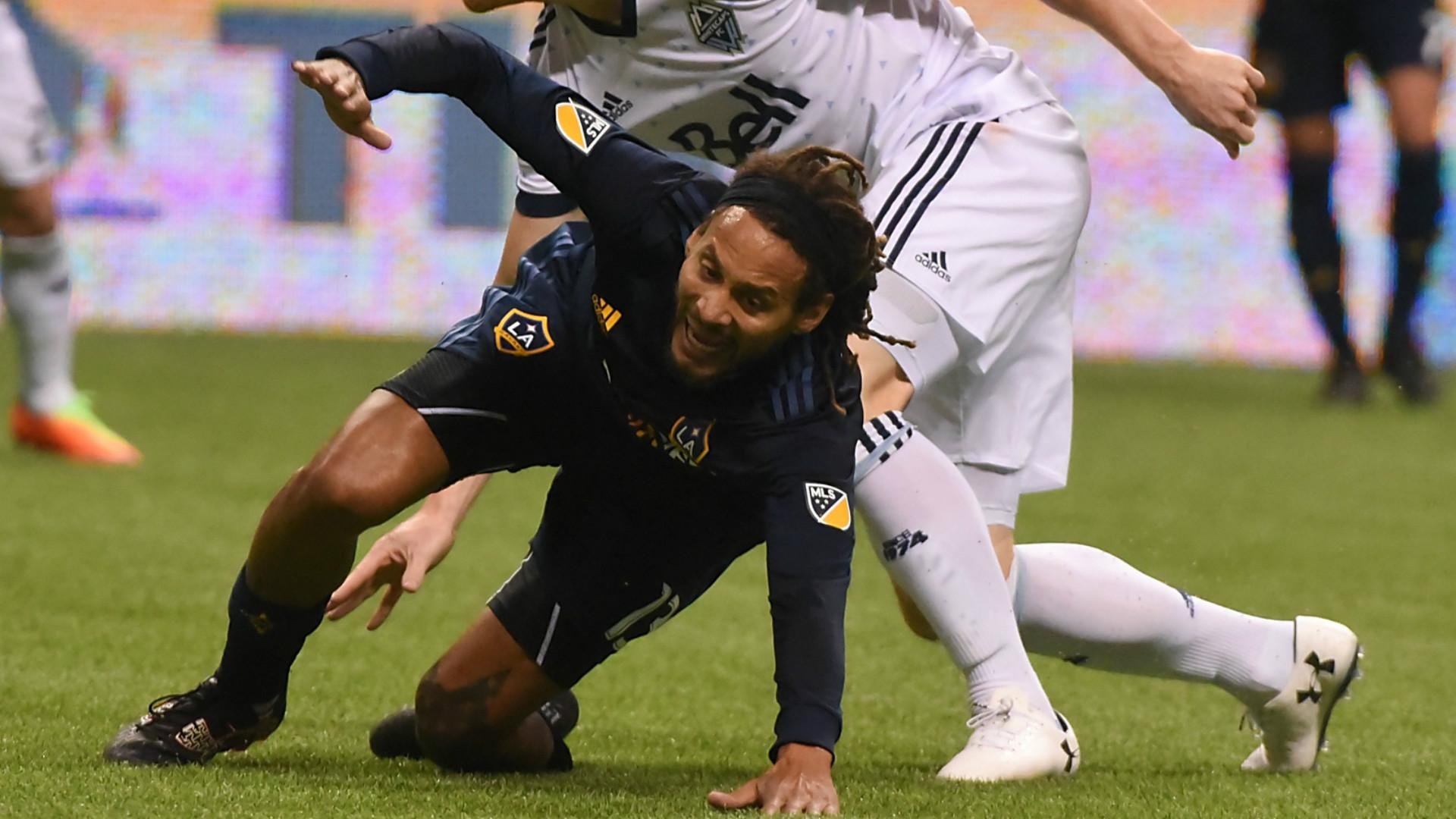 Jermaine Jones LA Galaxy MLS Vancouver 04012017