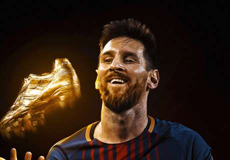 Messi mit dem Goldenen Schuh ausgezeichnet