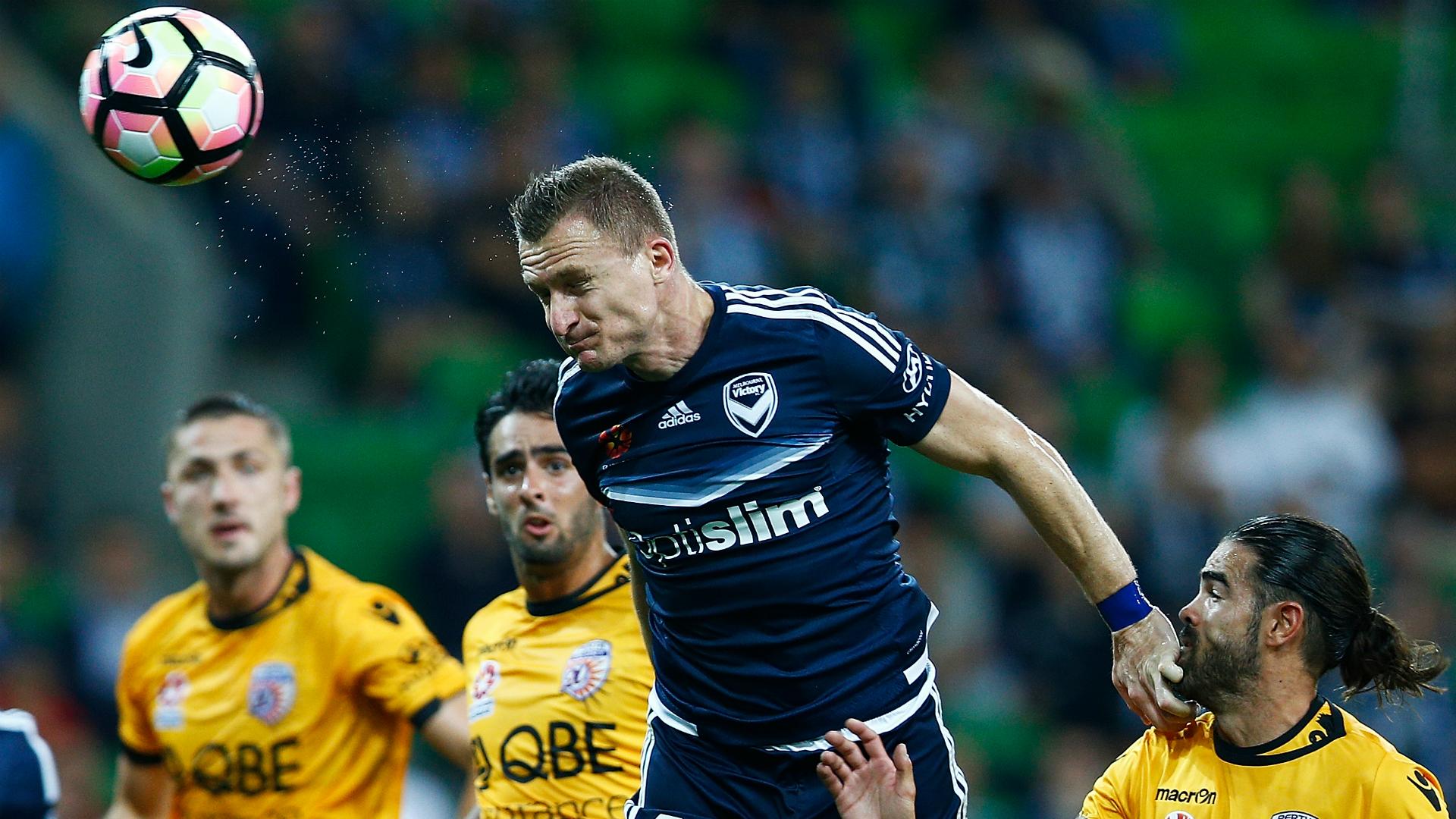 Besart Berisha Melbourne Victory v Perth Glory A-League 11032017