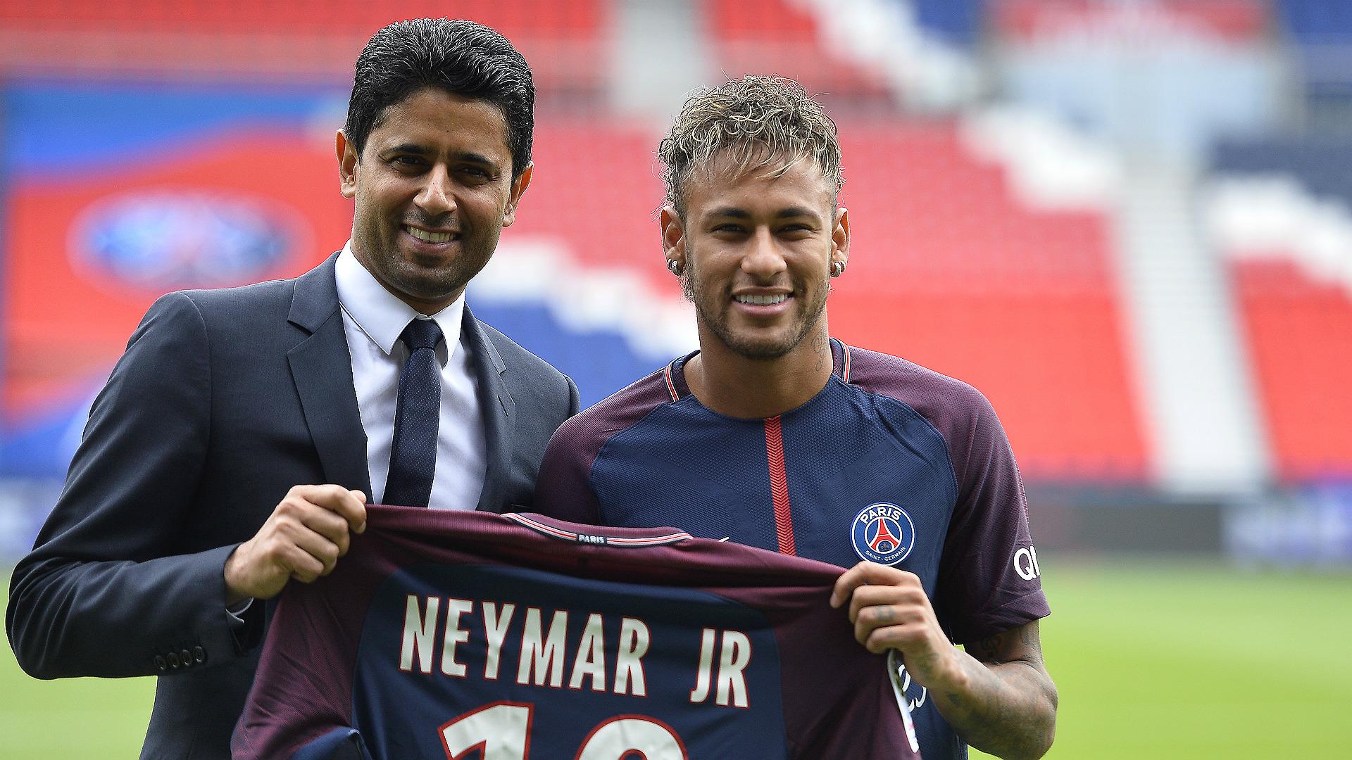Nasser Al Khelaifi Neymar PSG