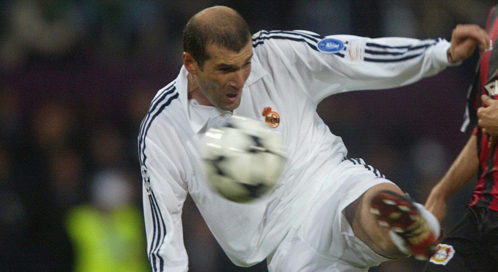 Zinedine Zidane Real Madrid Champions League
