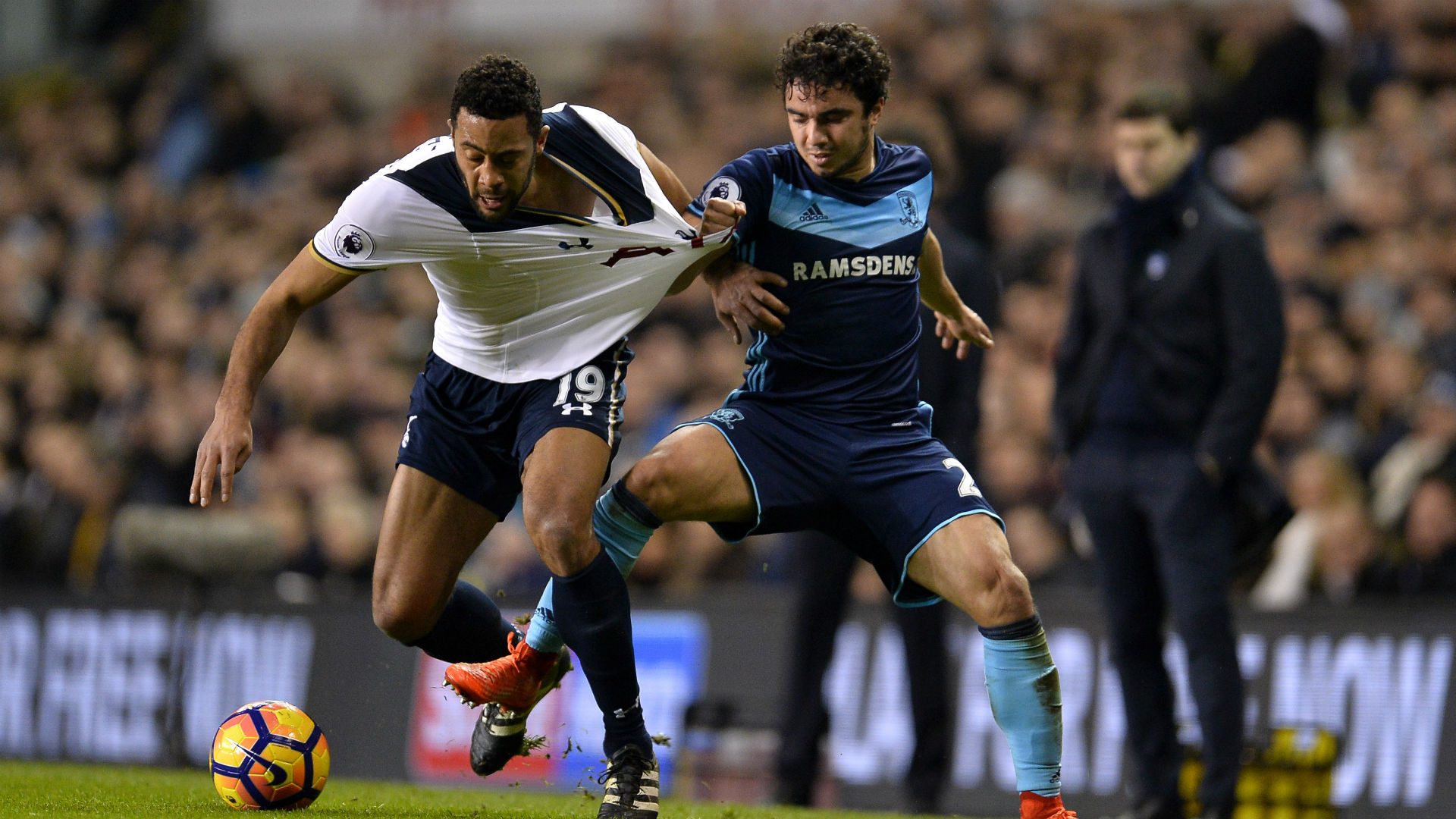 Mousa Dembele Premier League Tottenham v Middlesbrough