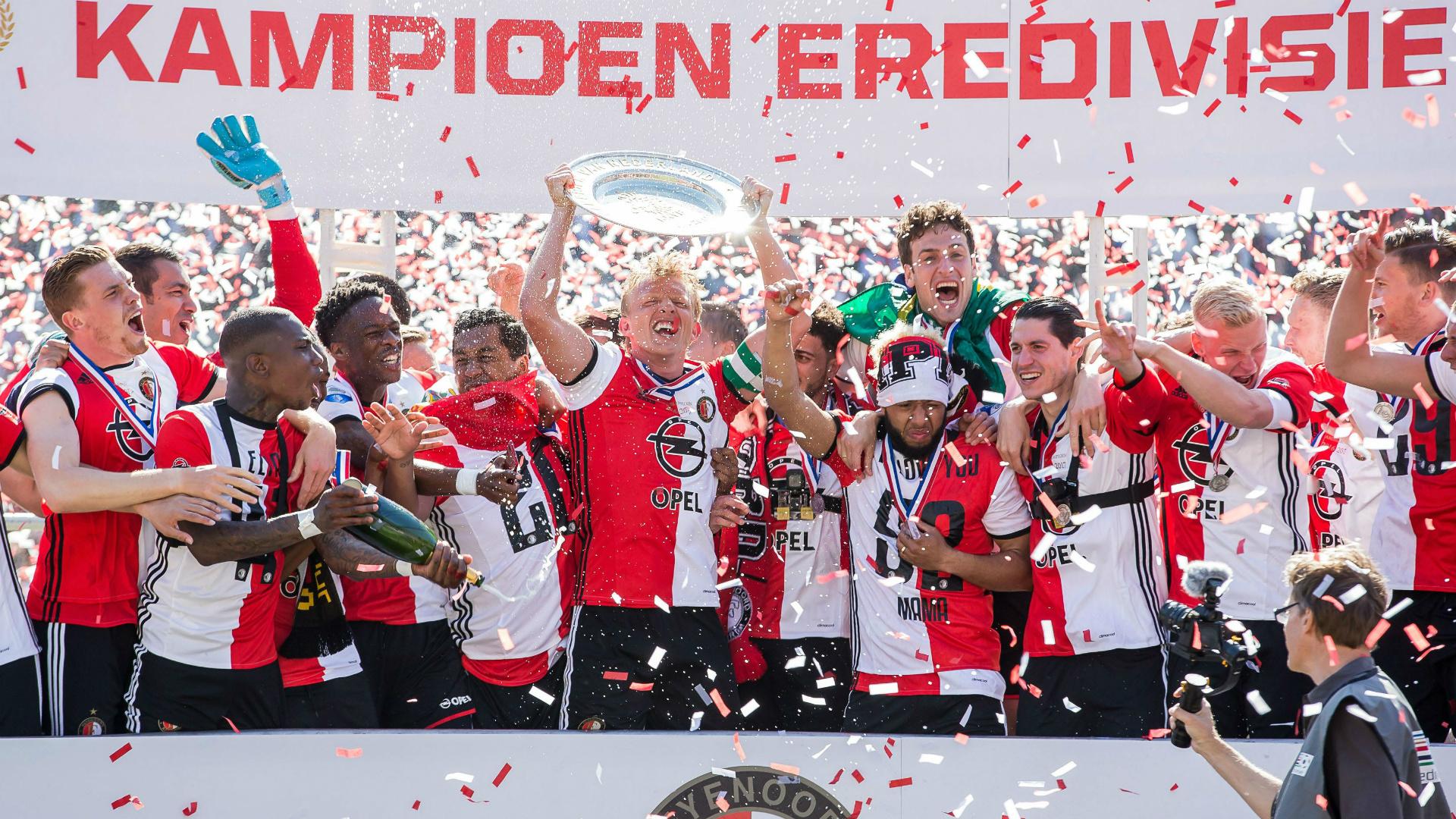 Feyenoord Eredivisie champions kampioenen