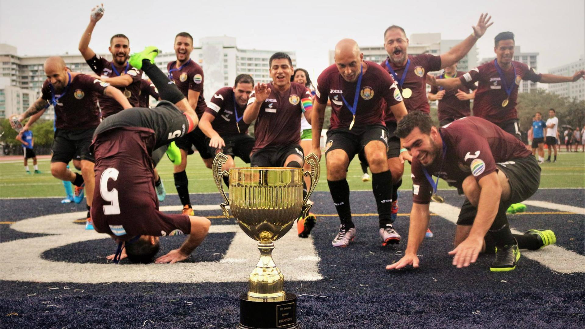 ¡Qué vayan estos a Rusia! Argentina salió campeón en el Mundial Gay
