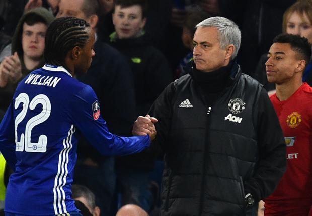 Mourinho targets summer Willian reunion at Man Utd