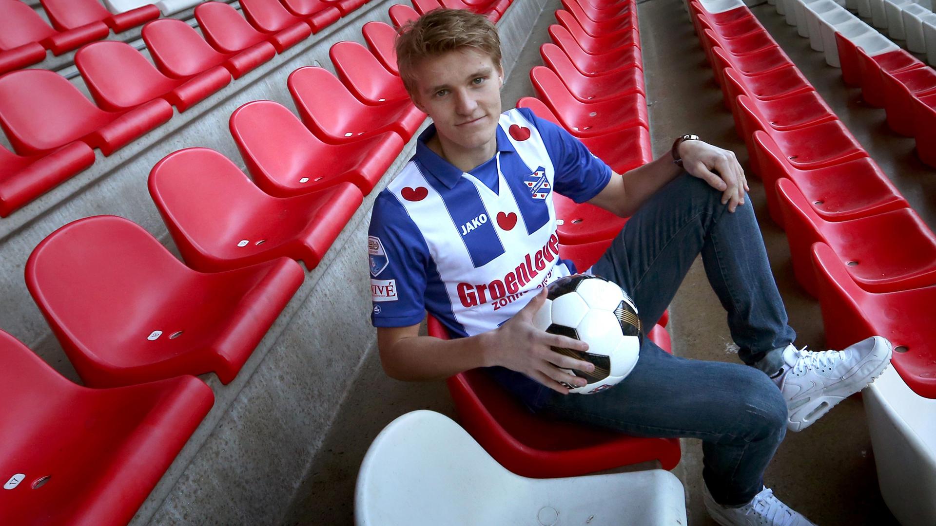 Martin Ödegaard Odegaard SC Heerenveen