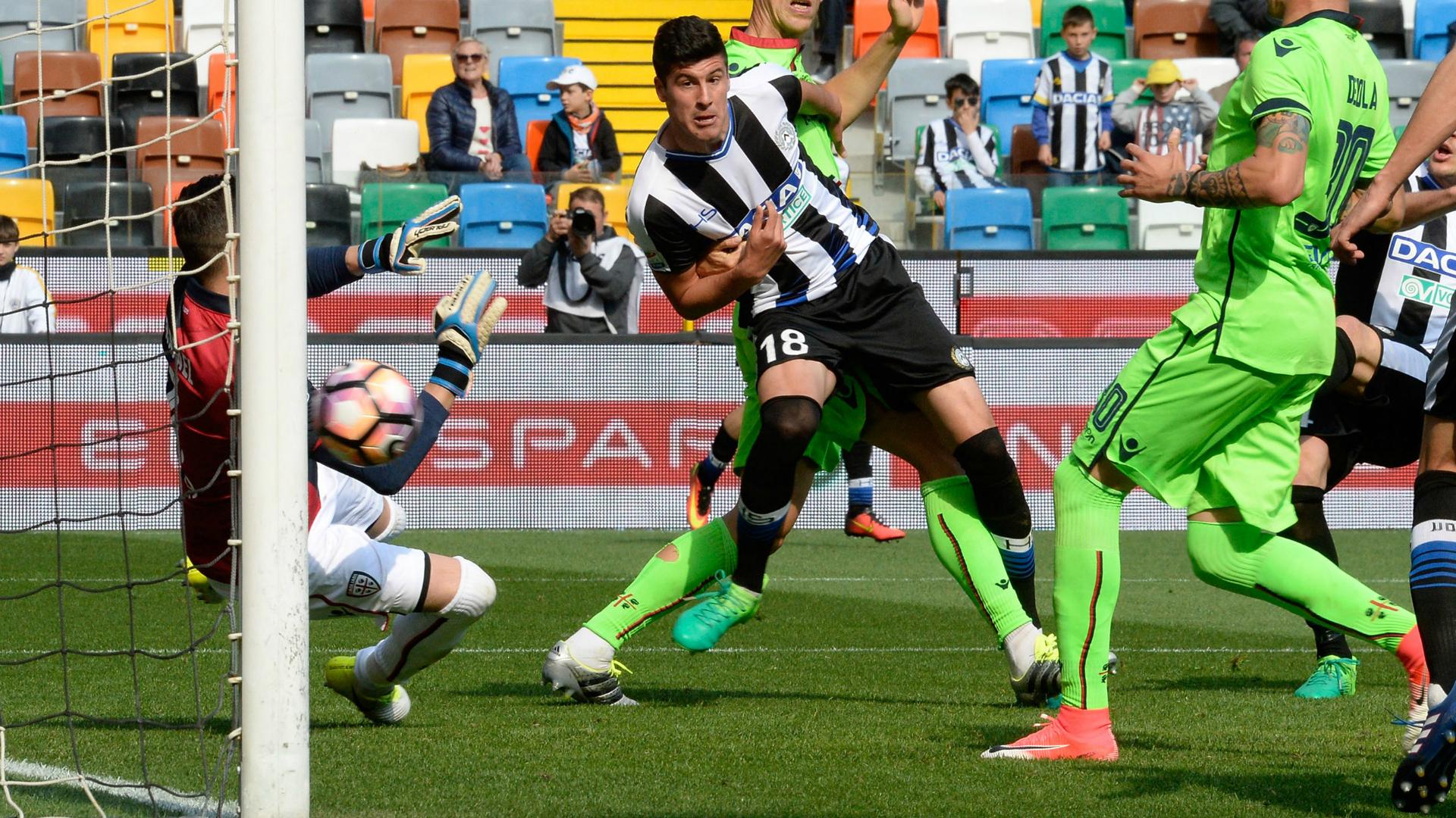 Perica Udinese Cagliari Serie A