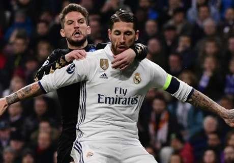 Ramos contesta al tweet de Piqué