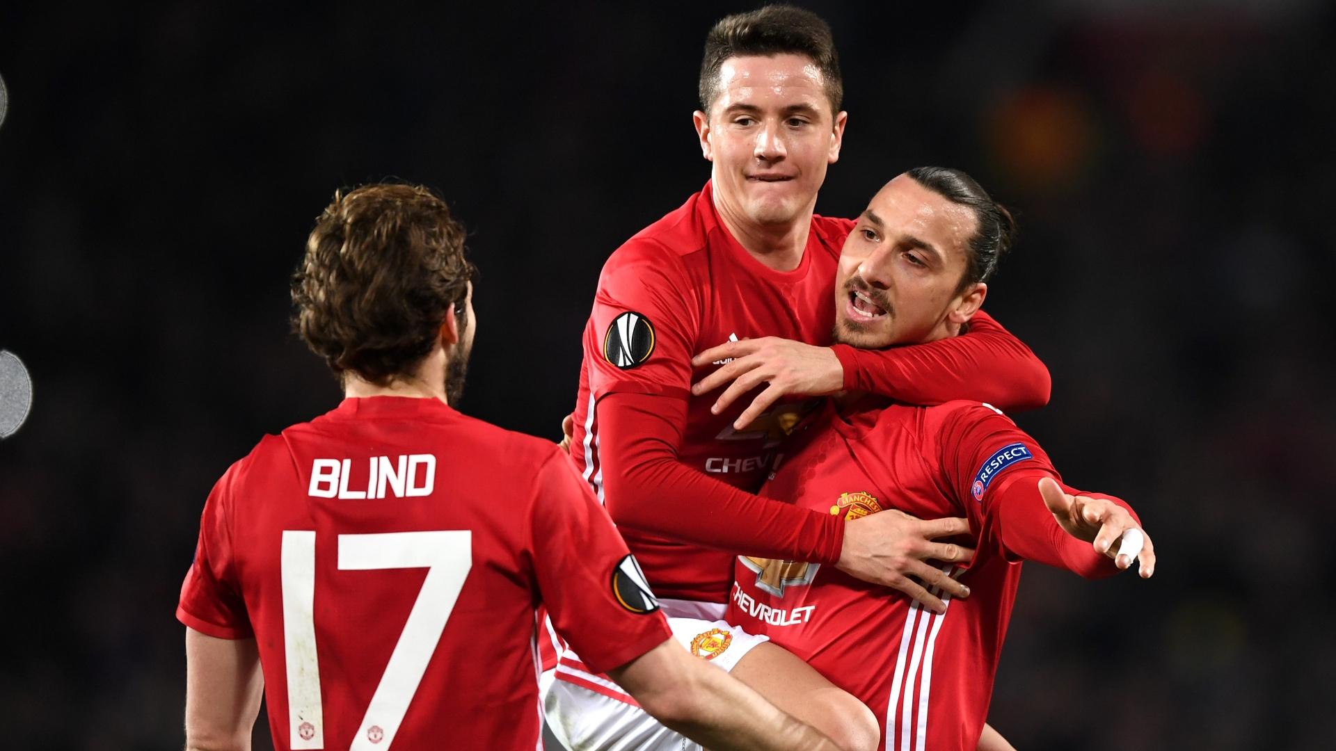 Zlatan Ibrahimovic Manchester United Saint Etienne