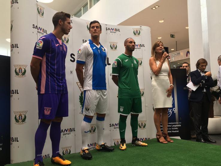 Kit Leganés 2017-18