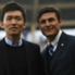 Zhang Jr. con Javier Zanetti