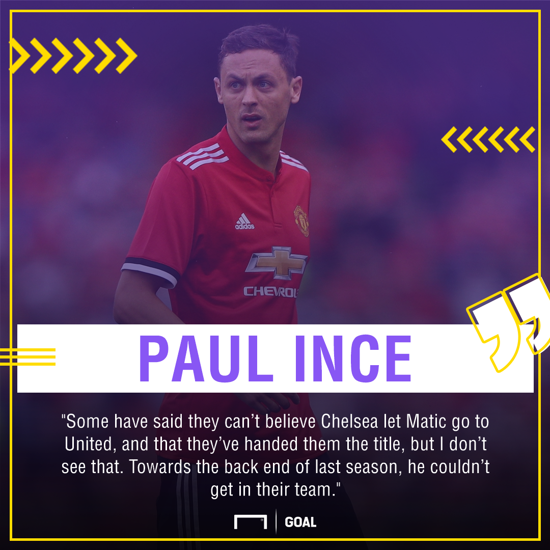 Paul Ince Nemanja Matic Manchester United