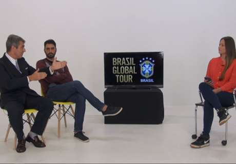VIDEO: Neymar, Brazil goals and more - Brasil Global Tour LIVE
