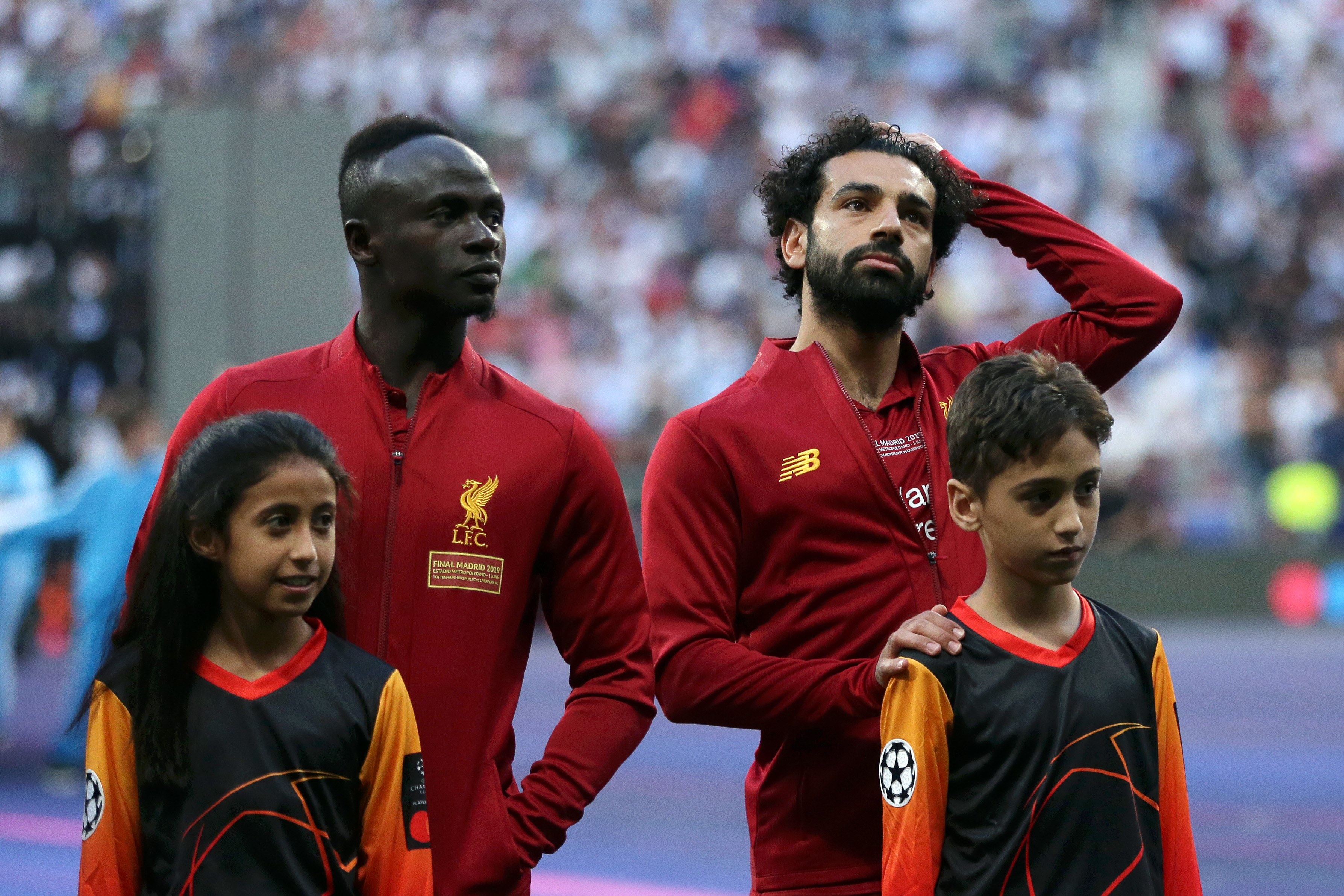 How did a talented Saudi girl experience a priceless moment in this year's Champions League final?