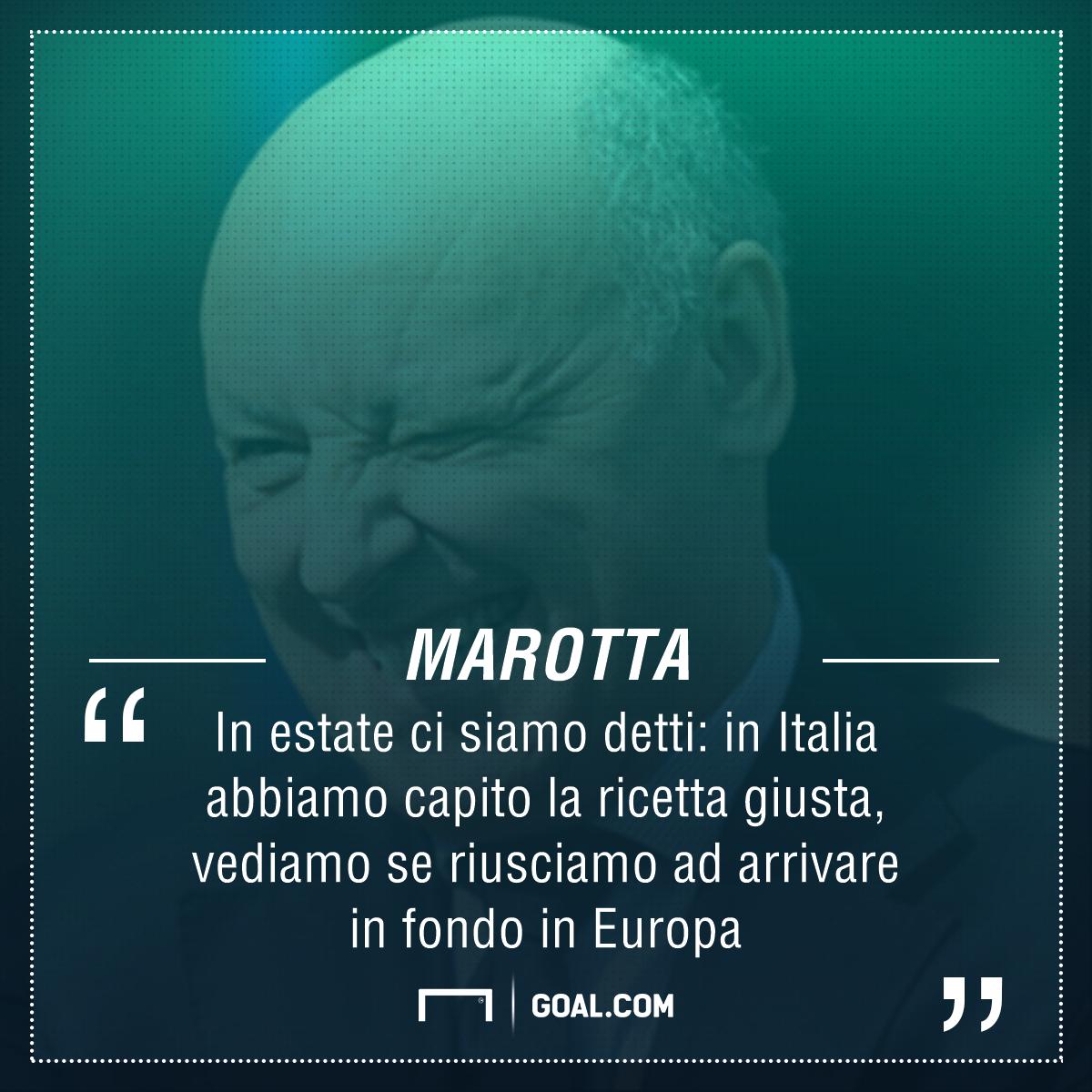 Marotta: 'Dybala alla Del Piero, Allegri qui a lungo, sugli arbitri...'