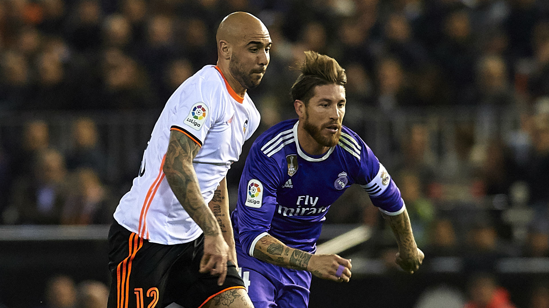 Simone Zaza Sergio Ramos Valencia Real Madrid LaLiga