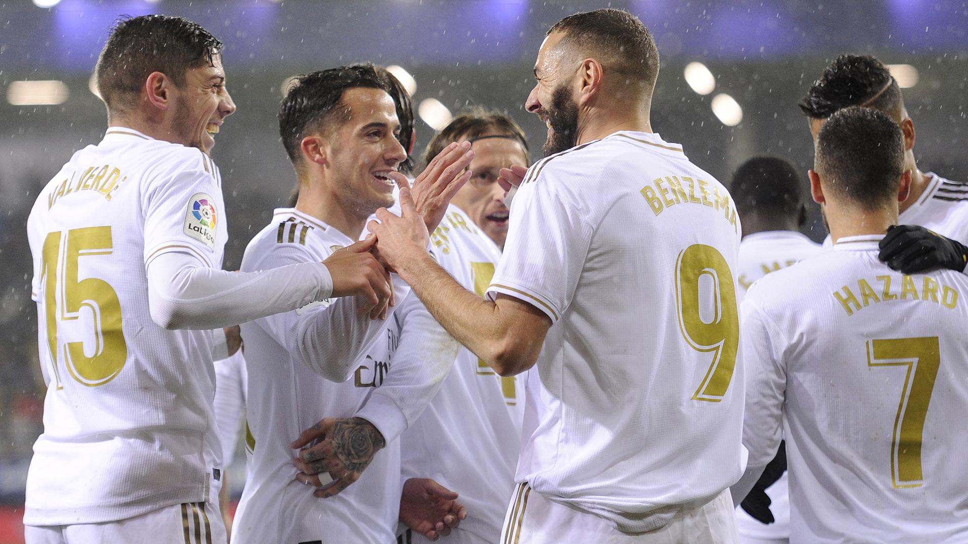 Benzema passes Puskas's La Liga goals tally in Real Madrid romp over Eibar