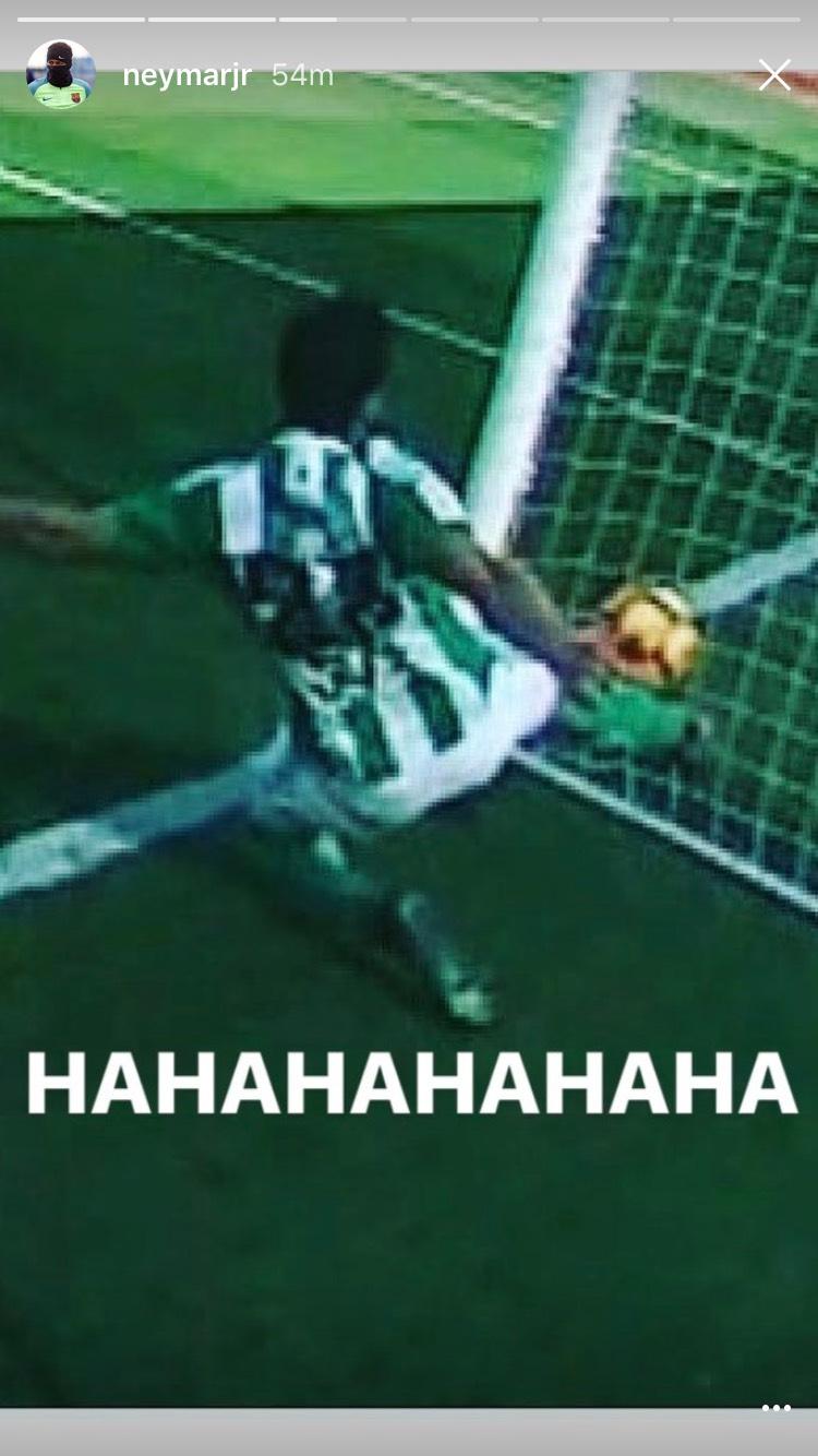 Neymar Instagram Betis