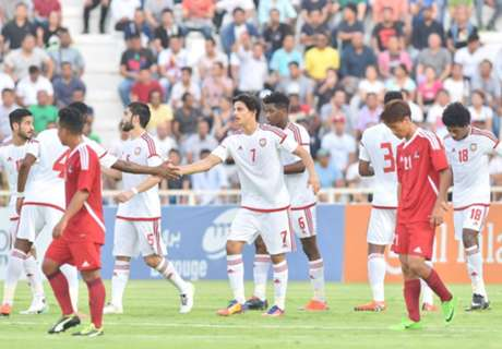 UAE U-23 begin with a 5-0 rout of Nepal