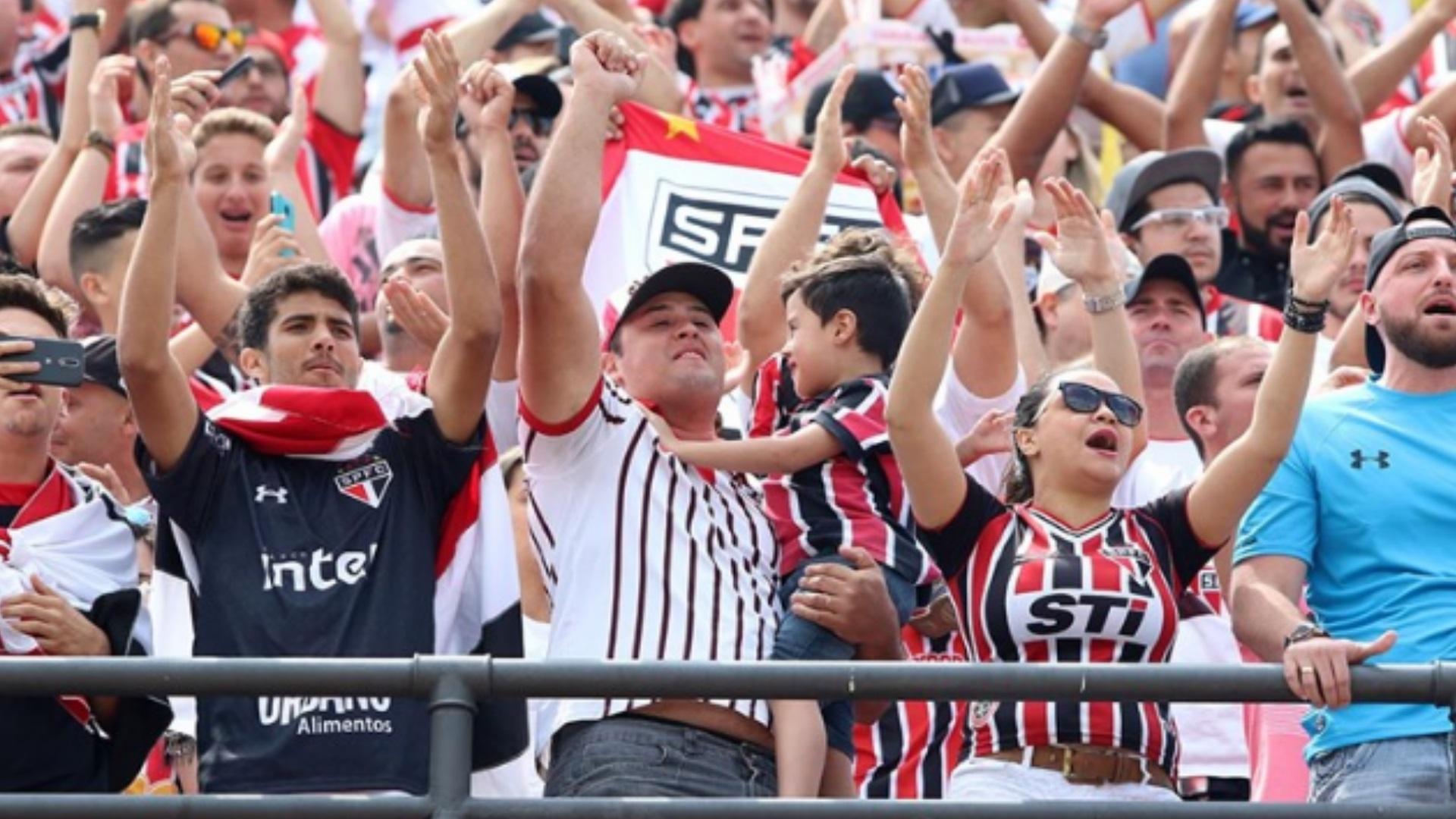 Torcida São Paulo Corinthians Brasileirão 24 09 2017