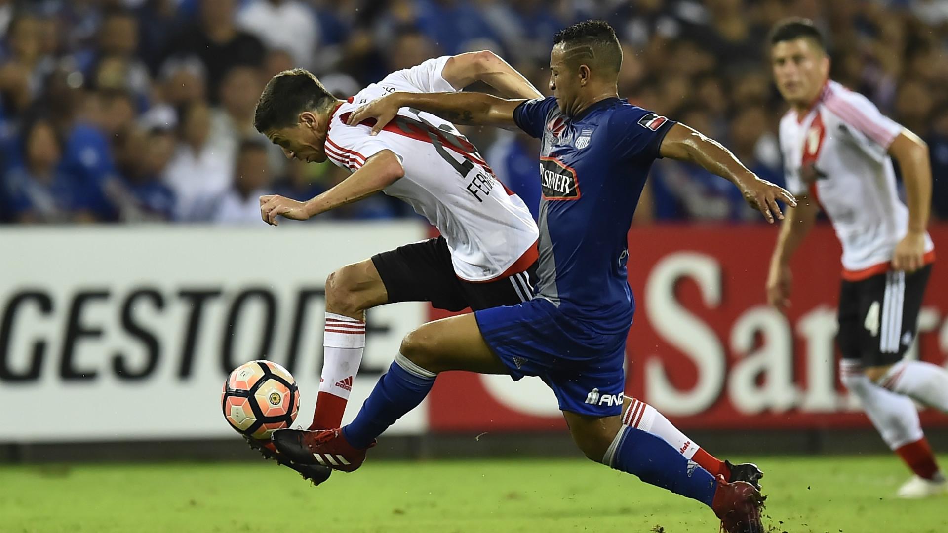 Ignacio Nacho Fernandez Emelec River Copa Libertadores 27042017