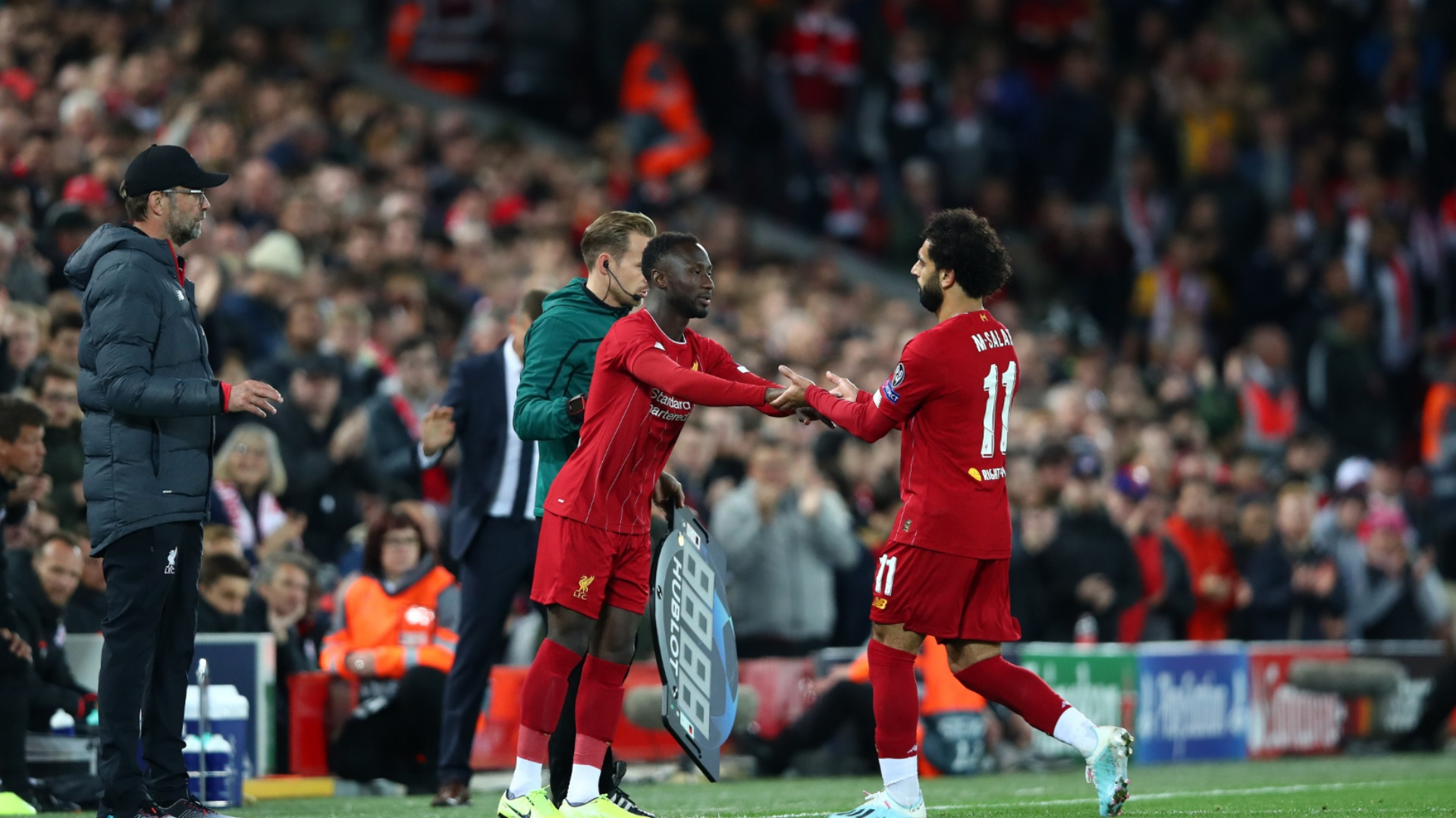 Naby Keita hopes to be Klopp's 'favourite' at Liverpool