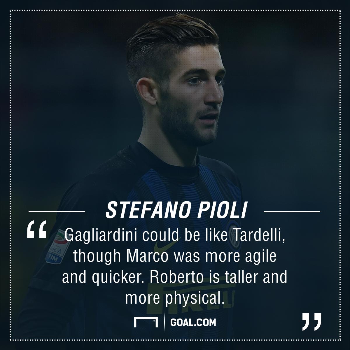 Stefano Pioli Roberto Gagliardini Inter PS
