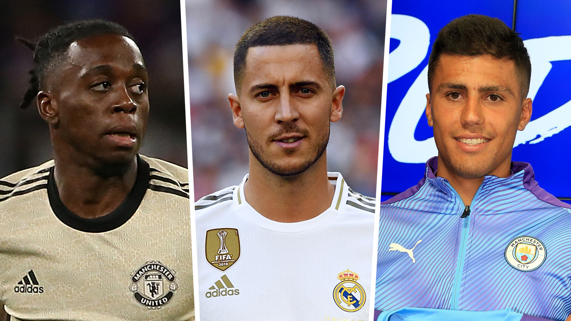 Premier League 2019-20 completed transfers: Hazard, Rodri, Wan-Bissaka & all new 2019 summer signings