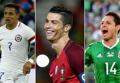 Las estrellas de la Copa