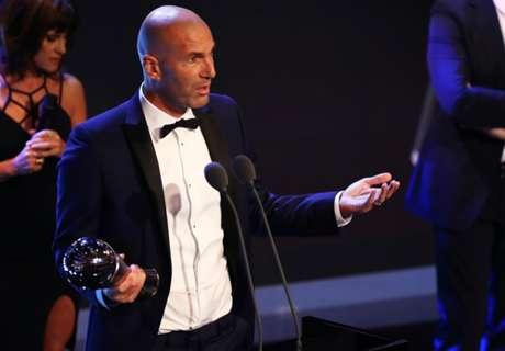 Zidane, elegido mejor entrenador del año por FIFA The Best