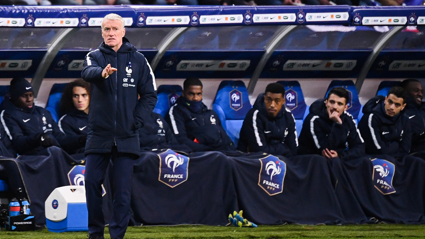 Deschamps' half-time team talk behind France comeback