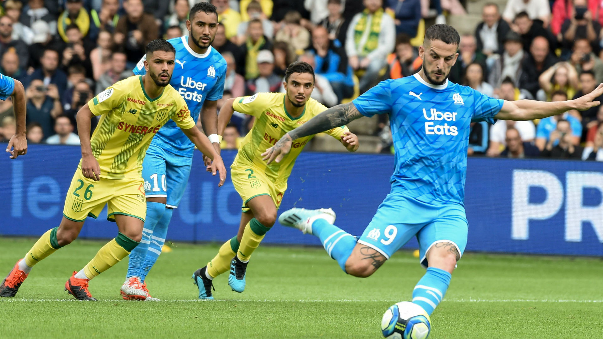 Nantes - OM (0-0) - Benedetto et l'OM restent à l'arrêt
