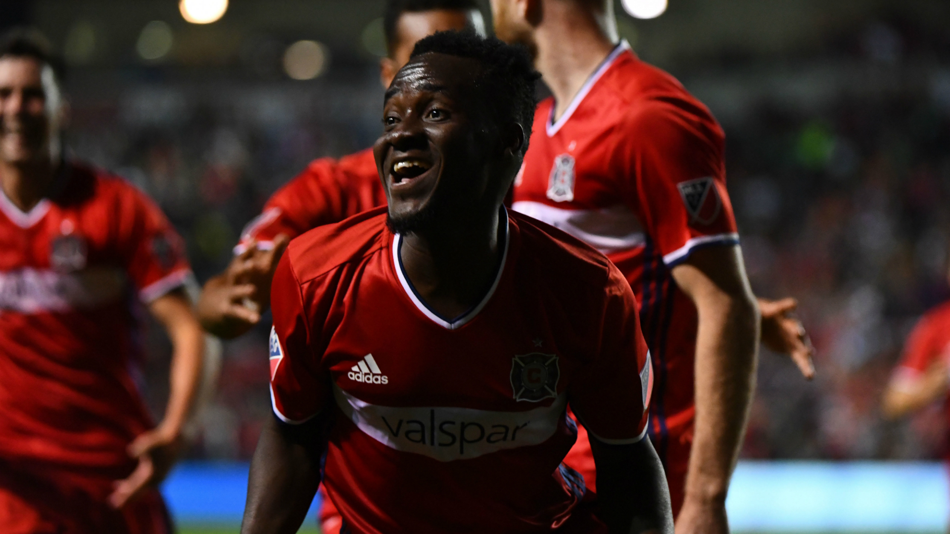 David Accam Chicago Fire