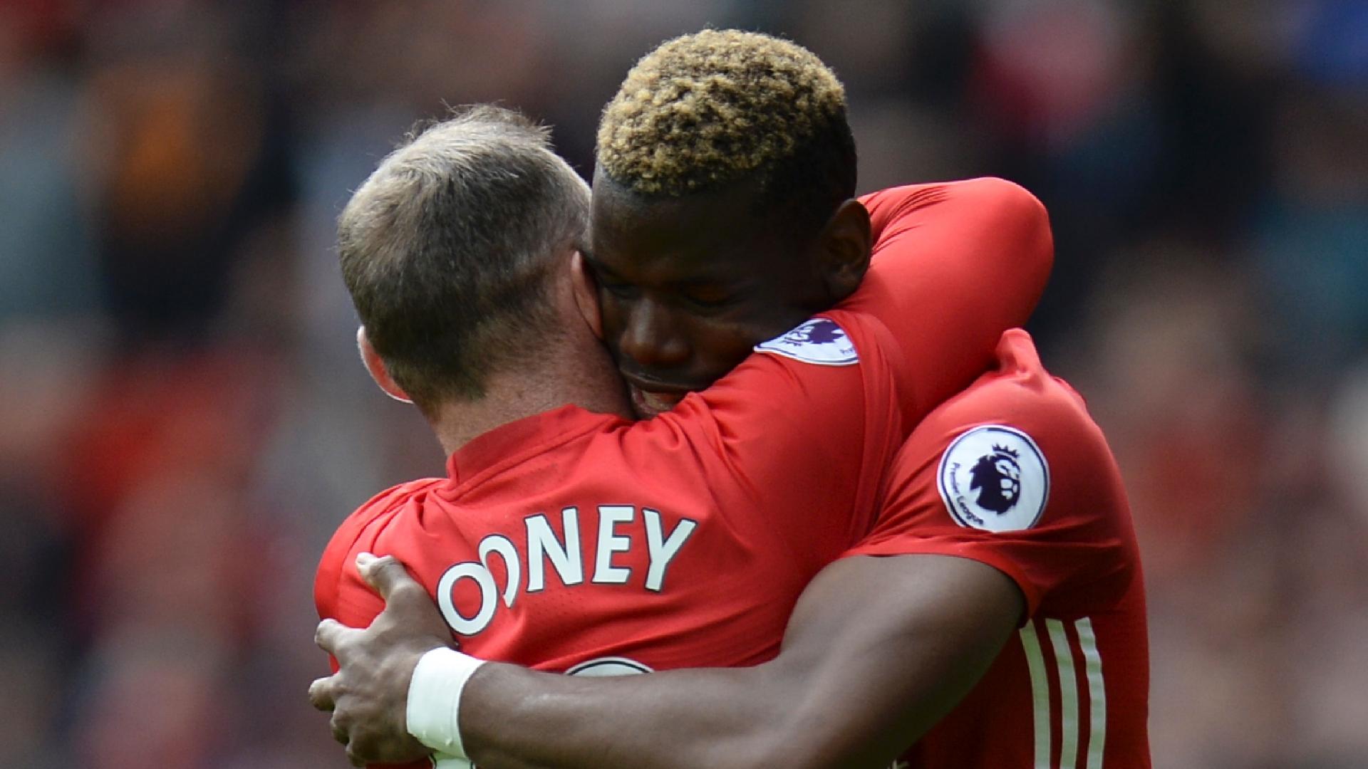 Rooney, Pogba, Man Utd