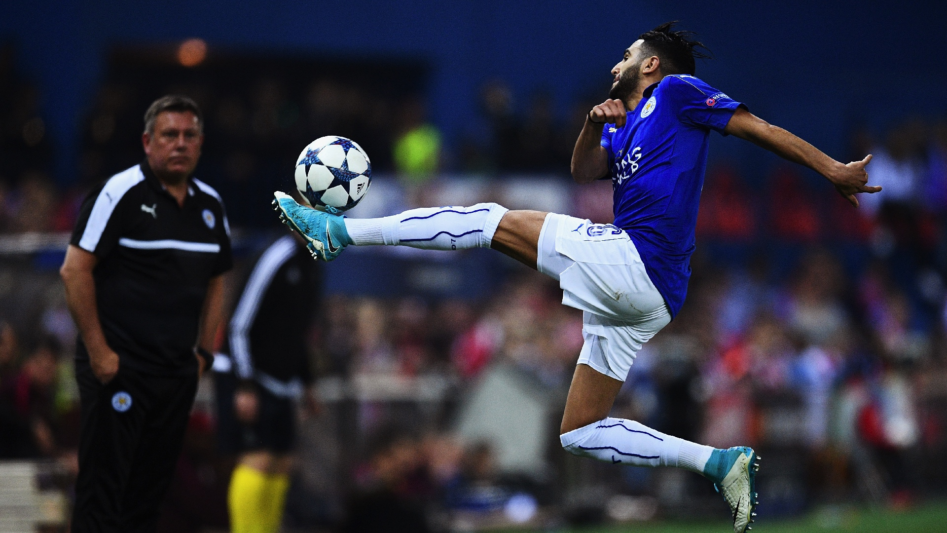 Riyad Mahrez Atletico Madrid Leicester City UCL 12042017