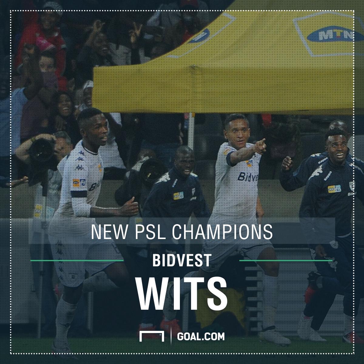 Bidvest Wits win PSL title - poster