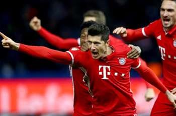 Lewandowski scores latest goal in Bundesliga record books