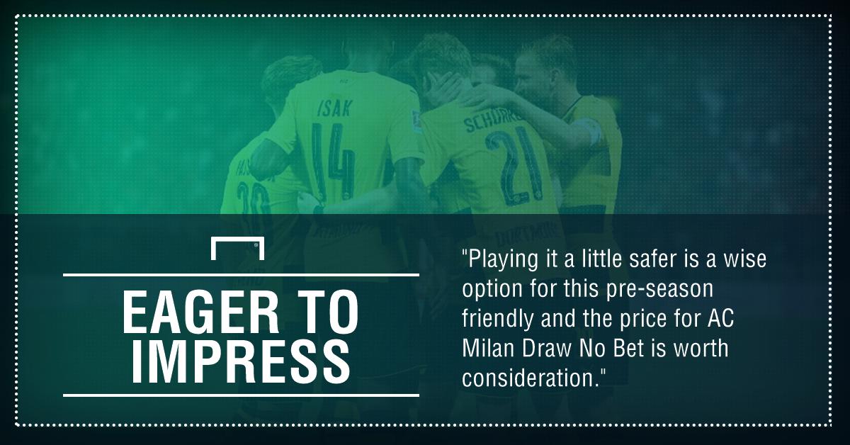 GFX AC Milan Borussia Dortmund betting