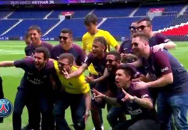 Neymar ingin menangkan Liga Champions.